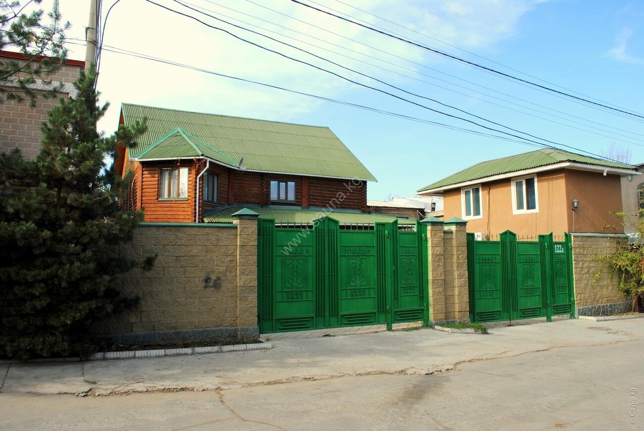 Княжеская – Фото фасада сауны «Барская»